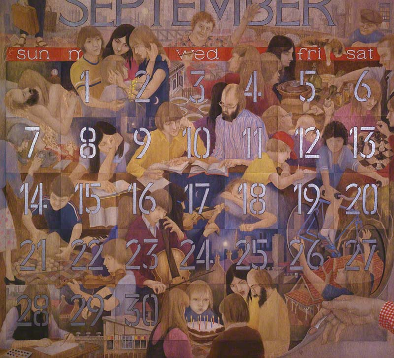 A Month in Time (September 1980) by Susan Dorothea White