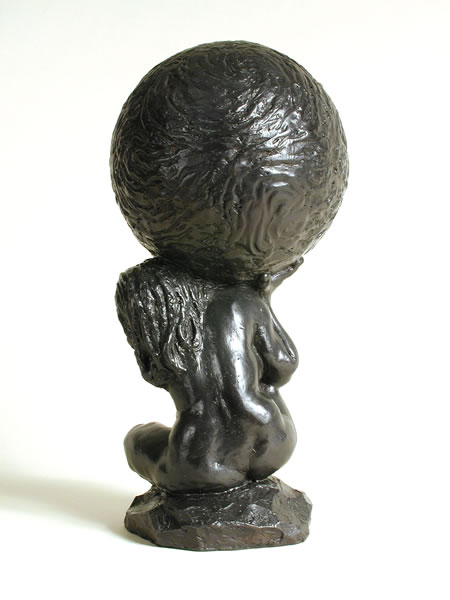 Atlass (bronze) by � Susan D White