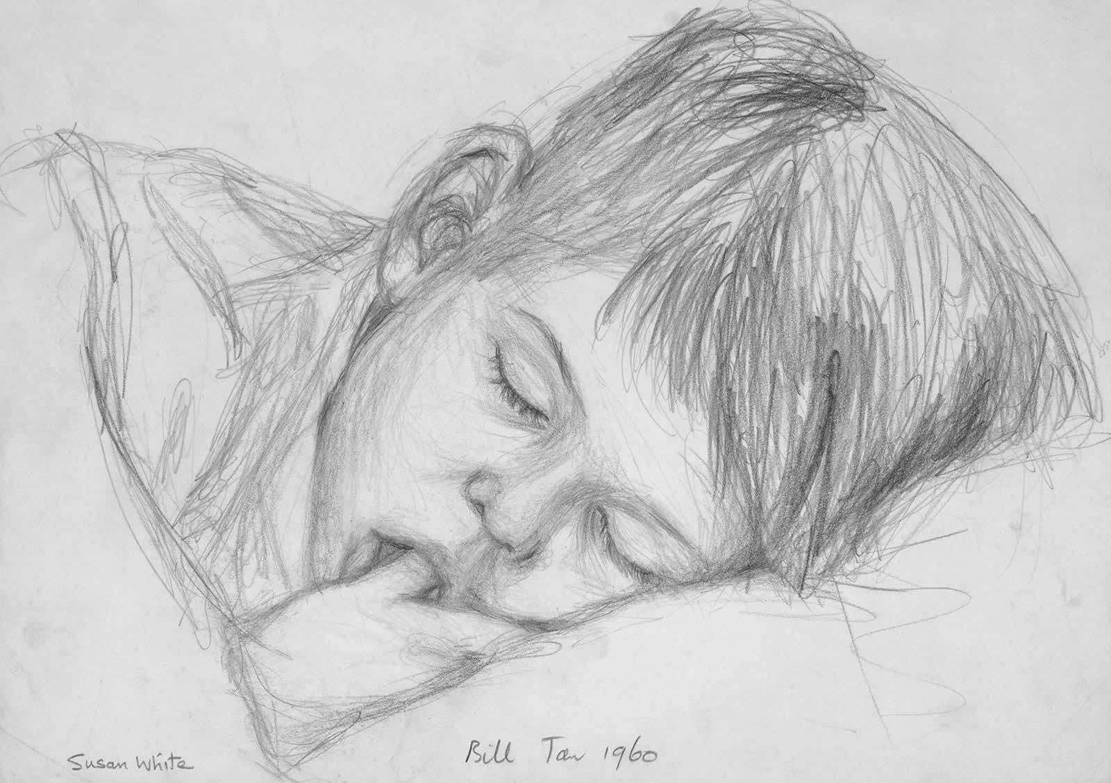 Brother Bill sleeping by Susan Dorothea White