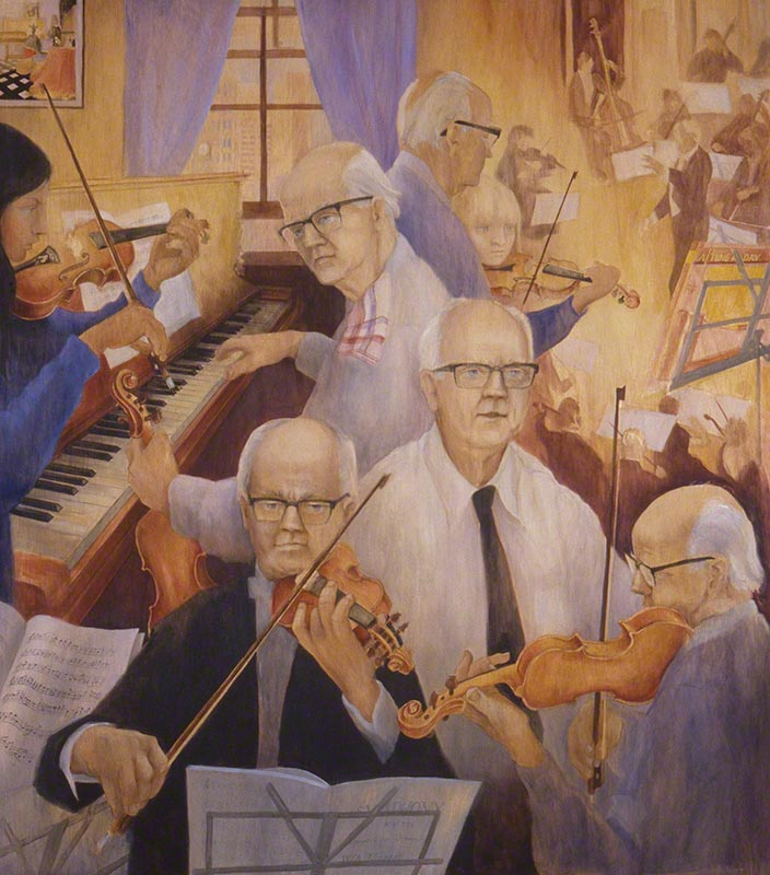 Clyde Thorpe, RRMSSO, Violinist, Teacher by Susan Dorothea White