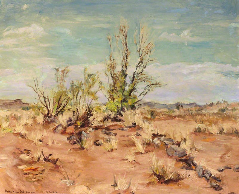 Dry creek bed, Broken Hill by Susan Dorothea White