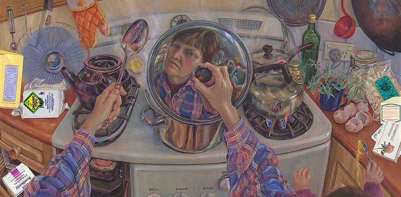 Menopausal Me in a Saucepan Lid, Warts 'n All, with Everything, including the Kitchen Sink by Susan Dorothea White