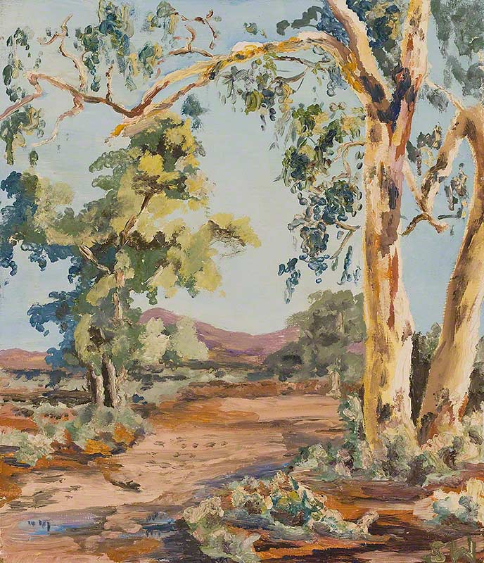 Nine Mile Creek (tributary of Stephens Creek, Broken Hill) by Susan Dorothea White