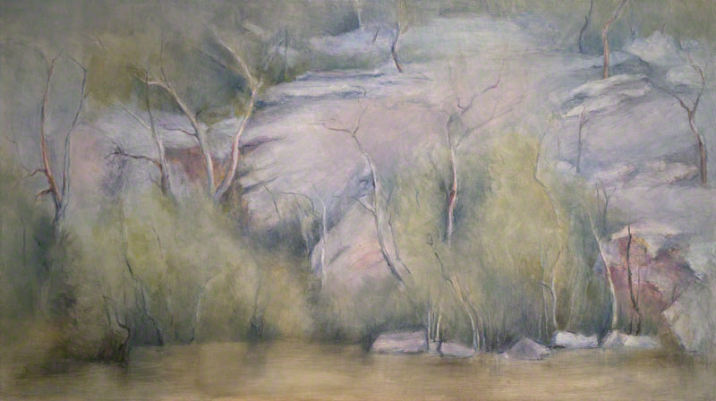 Silent river, Lane Cove by Susan Dorothea White