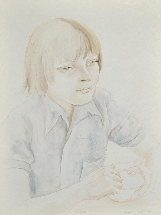 Stephen contemplating by Susan Dorothea White