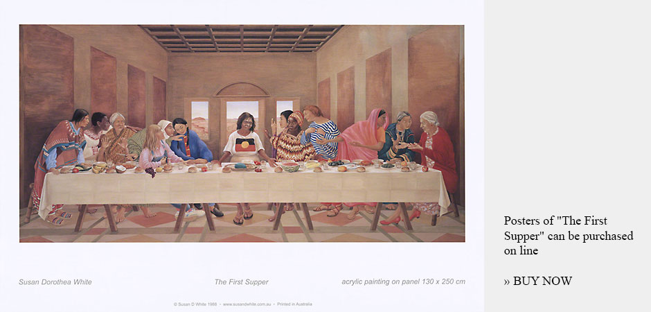 The First Supper by Susan Dorothea White - Poster